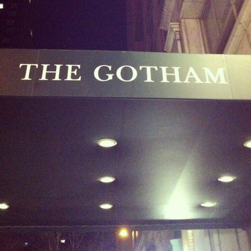 The Gotham… In Gotham.