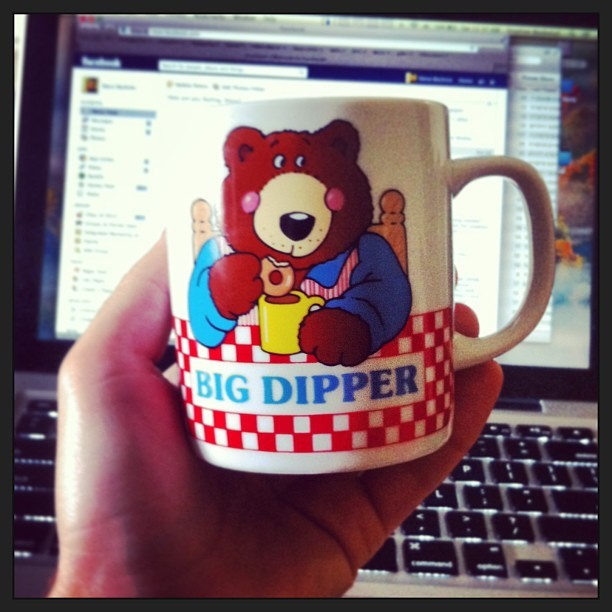 Big Dipper today! (Miss ya always Papa) #coffee #mug #childhood