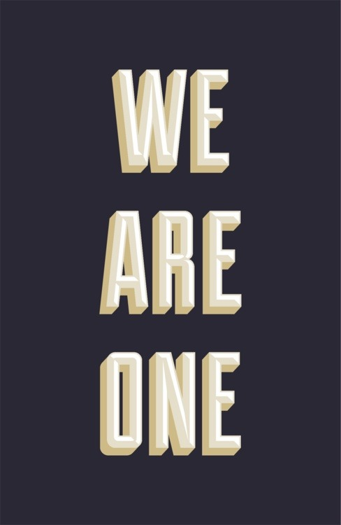 serialthrill:  We are one