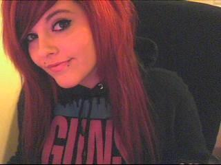 Looking on my old myspace. It's a lol a second!