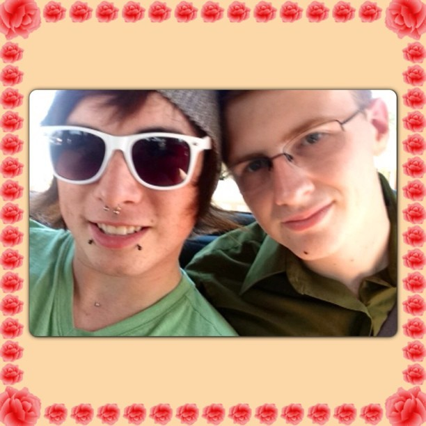With my awesome bf :). #boy #bf #boyfriend #caliboy #californiaboy #california #gay #gayboy #gaymale #gayman #gayguy #guy #homo #instagay #me #male #man #piercings #thecutestboysig #thestylestack  (at Citrus Heights)