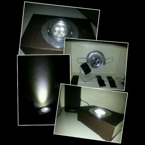 #DIY #LED light box for my room,not the best looking  but it work.LOL #green environment