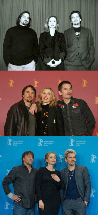 1995 , 2004 , 2013 BERLINALE 18-year-long project.it's beautiful .