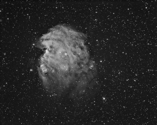 The Monkey head nebula in Ha by swag72 on Flickr.