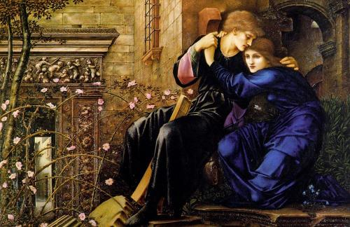 Love Among the Ruins by Edward Coley Burne Jones