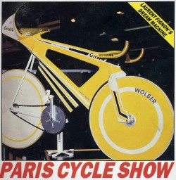 yesitsmeaaron:  Fignon's hour attempt bicycle. It was never used.  (Gitaneusa.com)