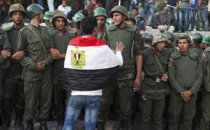 foreignaffairsmagazine:  Preventing Politics in Egypt — Why Liberals Oppose the Constitution Secularists have taken to the streets to argue that Egypt's new constitution, likely to be ratified this week, is an illegitimate document produced in an undemocratic process. What they really fear, however, is that normal politics will soon return to the country — setting up a fight that they know they can't win.  things become more interesting when the question is how and not what. Specifically, how can compromise be incentivized? It seems that both sides want democracy, just their brand of it — and to be in control of it. Unfortunately, the desire to ultimately control the process seems, well, decidedly undemocratic.  Neither side in the dispute is acting democratically. Secularists have politicized the courts and used them to try to undo election results and stop the ratification of the constitution. Secular leaders have been slow in condemning the violence perpetrated by their followers in the name of revolutionary legitimacy, including the torching of offices of the Islamist Freedom and Justice Party. Morsi has overreached by issuing a decree that that not only protects the constituent assembly but puts all his decisions above the control of the courts. Even some members of his team have taken a stand against the degree, and some of its parts have now been revoked.  Food for thought.