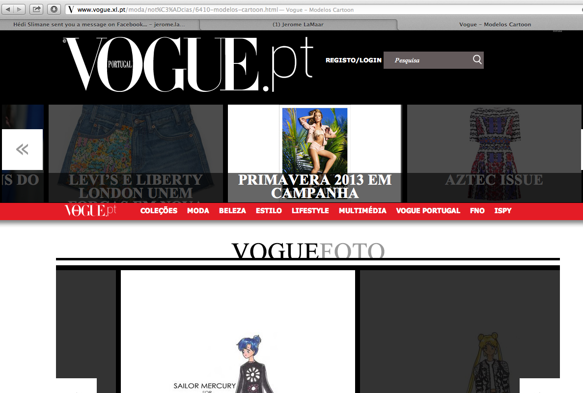 Thanks Vogue Portugal for the Feature!!