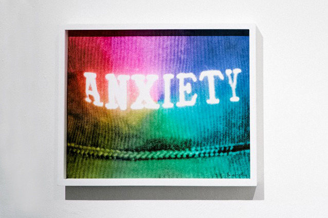 "Anxiety Giclee Print Signed, numbered edition of 10 24"" x 19.5"" 2013"