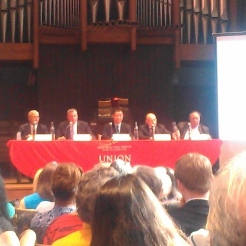 First NYC Mayoral forum on Animal Rights! (Quinn did not participate, btw!)