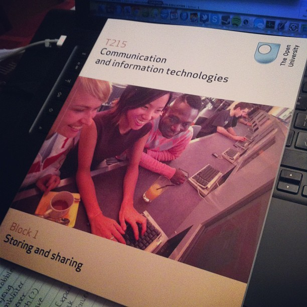My next module starts this month. :D #t215 #ou #openuniversity #it #ict
