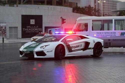 thinksquad:  Police officers in Dubai now patrol the city in a Lamborghini. The move is meant to help bolster Dubai's high-end reputation. http://on.wsj.com/117cKT1
