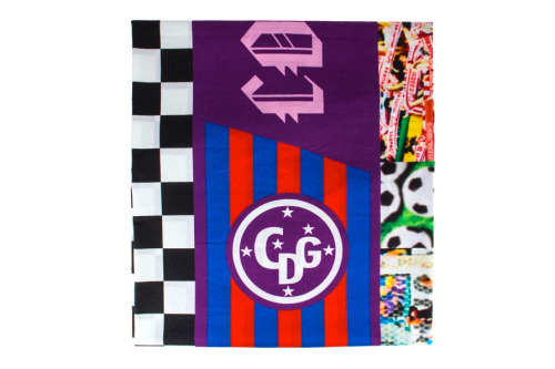 wongwong:  Comme des Garcons Spring/Summer 13 Patchwork Football Scarf.