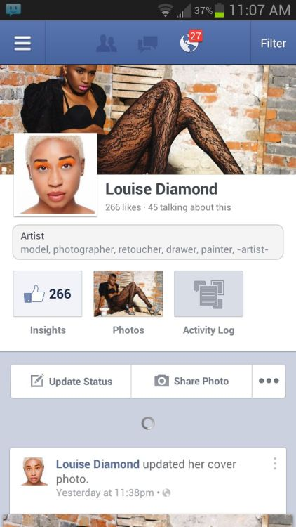Be sure to like Louise Diamond on FB if you're a fan! Facebook.com/louisediamondtheartist
