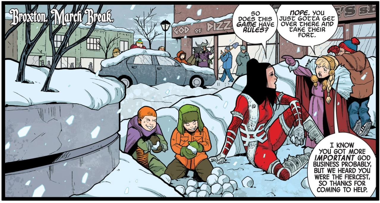 cydarizard:  I spy South Park kids in Broxton! From Journey into Mystery 650.