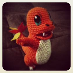 The charmander I made