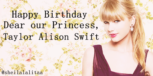 telekinetic-girl:  Happy Birthday @taylorswift13 <13