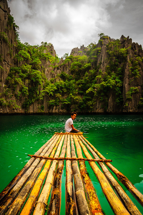 h4ilstorm:  Coron lake (by J W CRUX)
