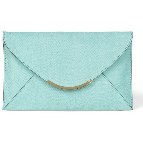 VC Signature Ellie Clutch   ❤ liked on Polyvore (see more python handbags)