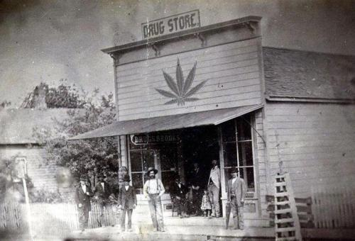 Just like the good old days. Ye 'Ol Dispensary! #MD411