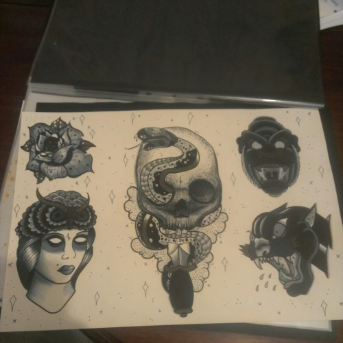 2nd flash sheet ive completed, not the best photo but you get the idea (submission by: http://anthonystrati.tumblr.com/)