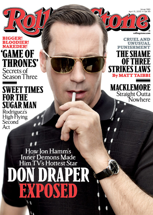 Get a first look at Jon Hamm on the cover of our new issue. In the cover story, Hamm explains how drastically he differs from Don Draper, his pre-Mad Men struggles in the entertainment business and his plans when the show goes off the air in 2014. Keep an eye out for the issue on newsstands this Friday.