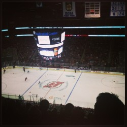 I'm at a hockey game, guys!!! #NJ #NewJerseyDevils #NJD