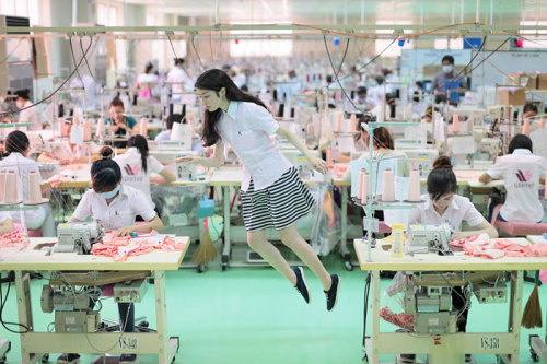 phorbidden:  Natsumi Hayashi makes every (floating) moment last forever | PingMag : Art, Design, Life – from Japan