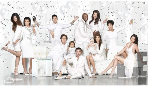 It's finally here! The Kardashian family Christmas card featuring all your favorites! However, Kim Kardashian's beau Kanye West is NOT in the card because only family is allowed. Either way, enjoy!