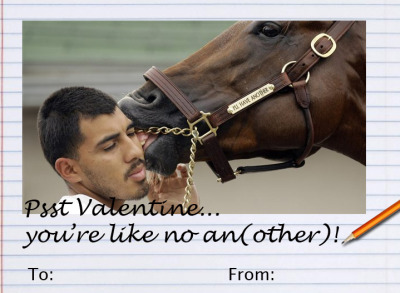 Joining afleet-alexandra… more horse racing valentines!