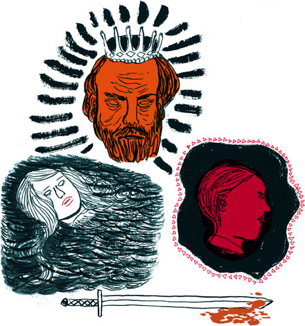 Illustrations for Hamlet by William Shakespeare with Modern Translation: The Ultimate Hamlet eBook Created for eNotes  2012