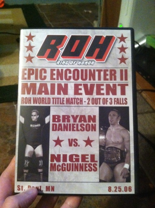 It's looking like an all-ROH weekend here at my house. I'll start livetweeting this in a moment. Twitter is here, opinions are mine, hashtag is #EE206. Feel free to come watch me make nonsensical statements and marvel over how many names of wrestling moves I don't actually know. For example, did you all know I thought the Falcon Arrow was the Falconero for the longest time? Yeah, I'm that kinda person.