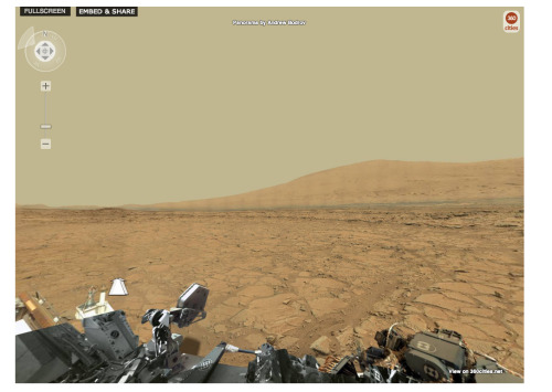 4-Billion-Pixel Panorama From Curiosity Rover Brings Mars to Your Computer Screen