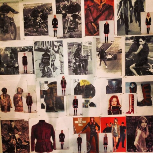 ninagarcia:  Mood Board at Belstaff