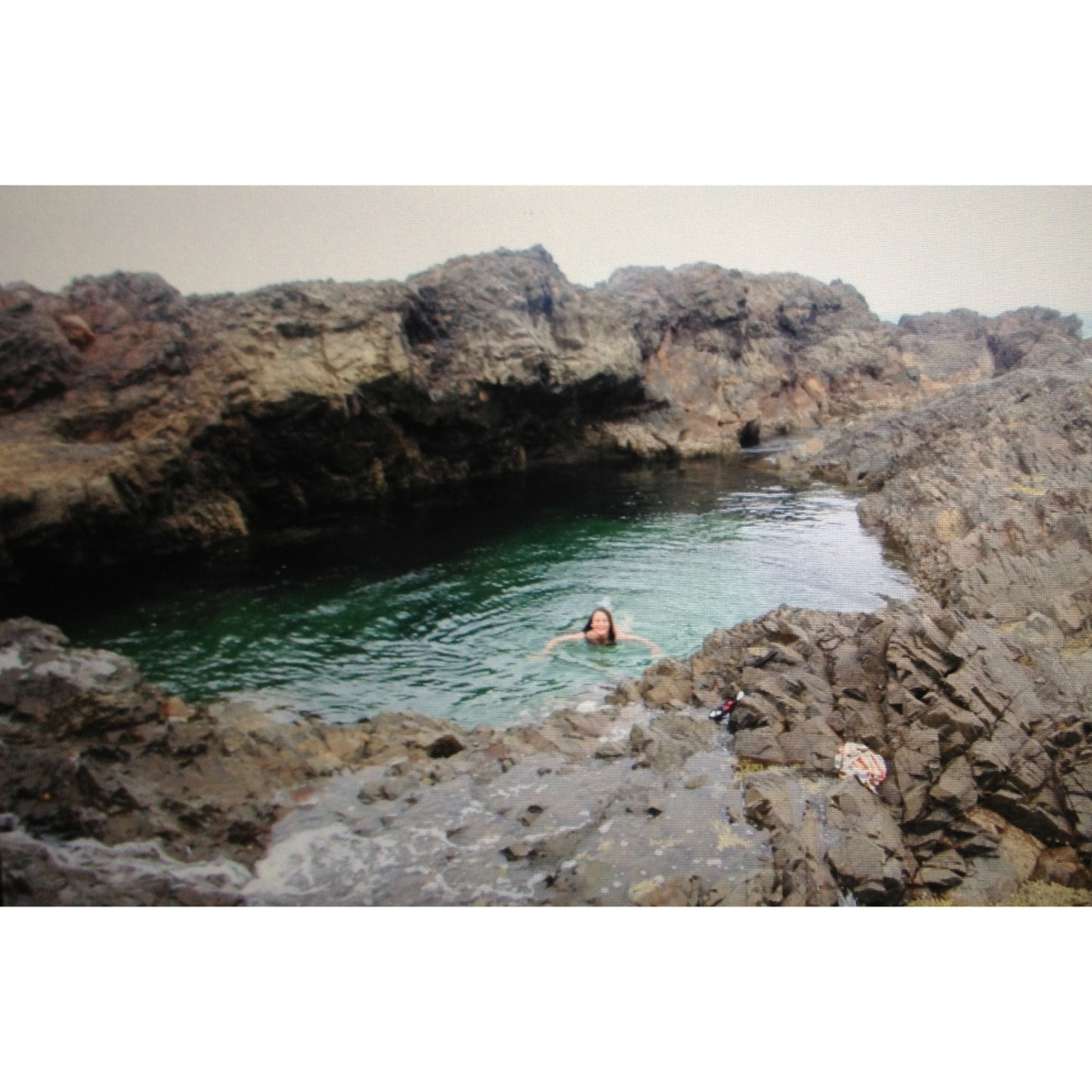 "oceanisbyfaith:  This place is super amazing, it was about 4m deep and the clearest water ever. but apparently it's a ""locals only"" kinda thing, so I won't tell you where it is."
