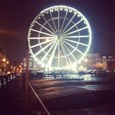 #Gig #Leeds has a giant wheel.brilliant.we hope to get back up to play Leeds again in the coming months. :)