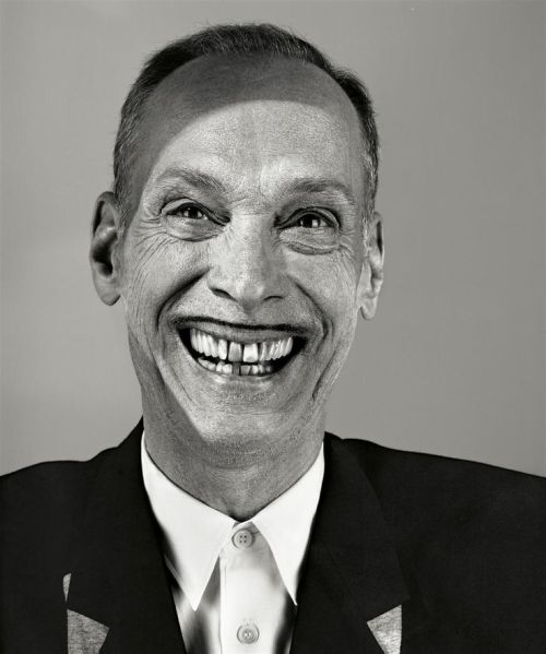 """Everybody said, 'Oh you must've been on drugs when you made those movies.' No! We weren't on drugs when we made them. I was on on drugs when I thought them up and I was on drugs when we showed them, but I was never on drugs when we made them, because it was too hard.""  - John Waters   Waters' new book is called Carsick. It chronicles his hitchhiking journey across the country.   Photo by Richard Burbridge, 2008"