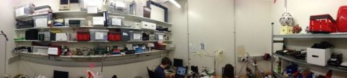 Panorama of the space. http://on.fb.me/T61dSh