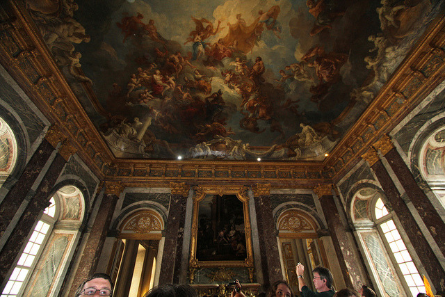 | ♕ |  Hercules drawing room - Versailles Palace  | by © tourist2011