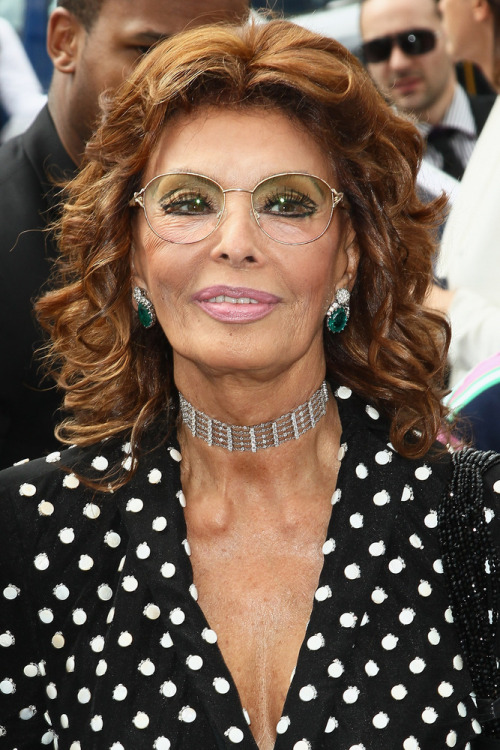 """Everything you see I owe to spaghetti."" Sophia Loren Photo via Getty"