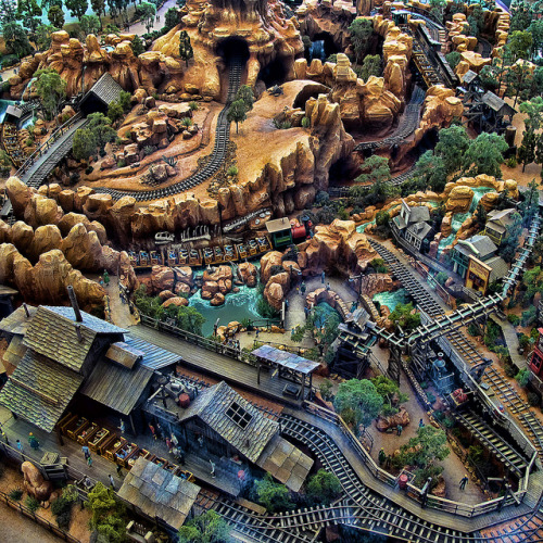 minnie-mickey-disney:  Thunder Mountain from above on Flickr.