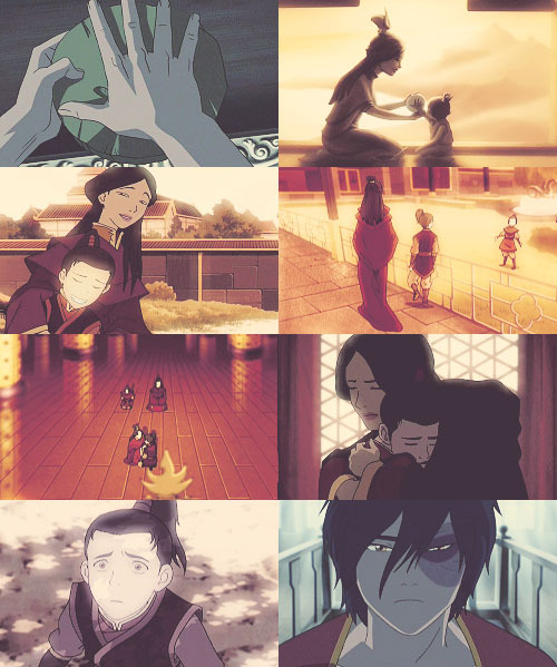 "the-fire-lord-zuko:   ""Zuko, please, my love, listen to me. Everything I've done, I've done to protect you. Remember this, Zuko. No matter how things may seem to change, never forget who you are."""