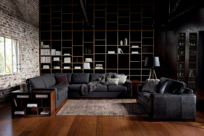 myidealhome:  dark beauty (where to buy: sofa by Freedom Furniture and Homewares)