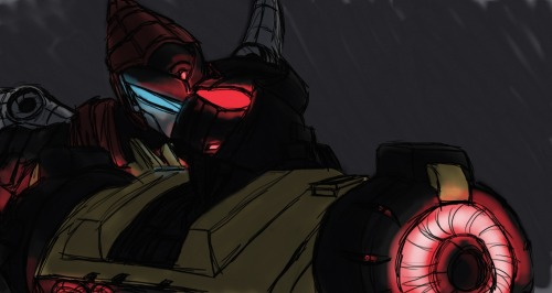 72stars:  been meaning to draw FoC!Grimlock for a while. Swoop snuck in there too. I have no idea what I'm doing oh well. v:Dv