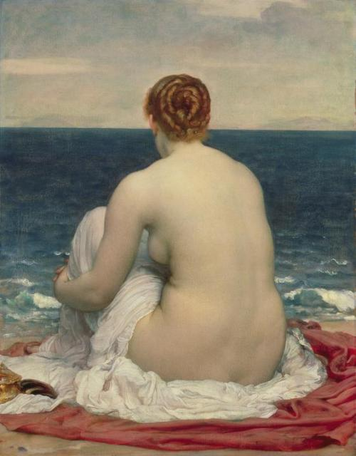 NUDE OF THE WEEK: Frederic Leighton, Psamanthe, 1880