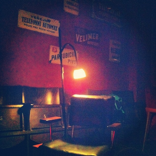 Nobodies chair (at Bukowski's Bar)