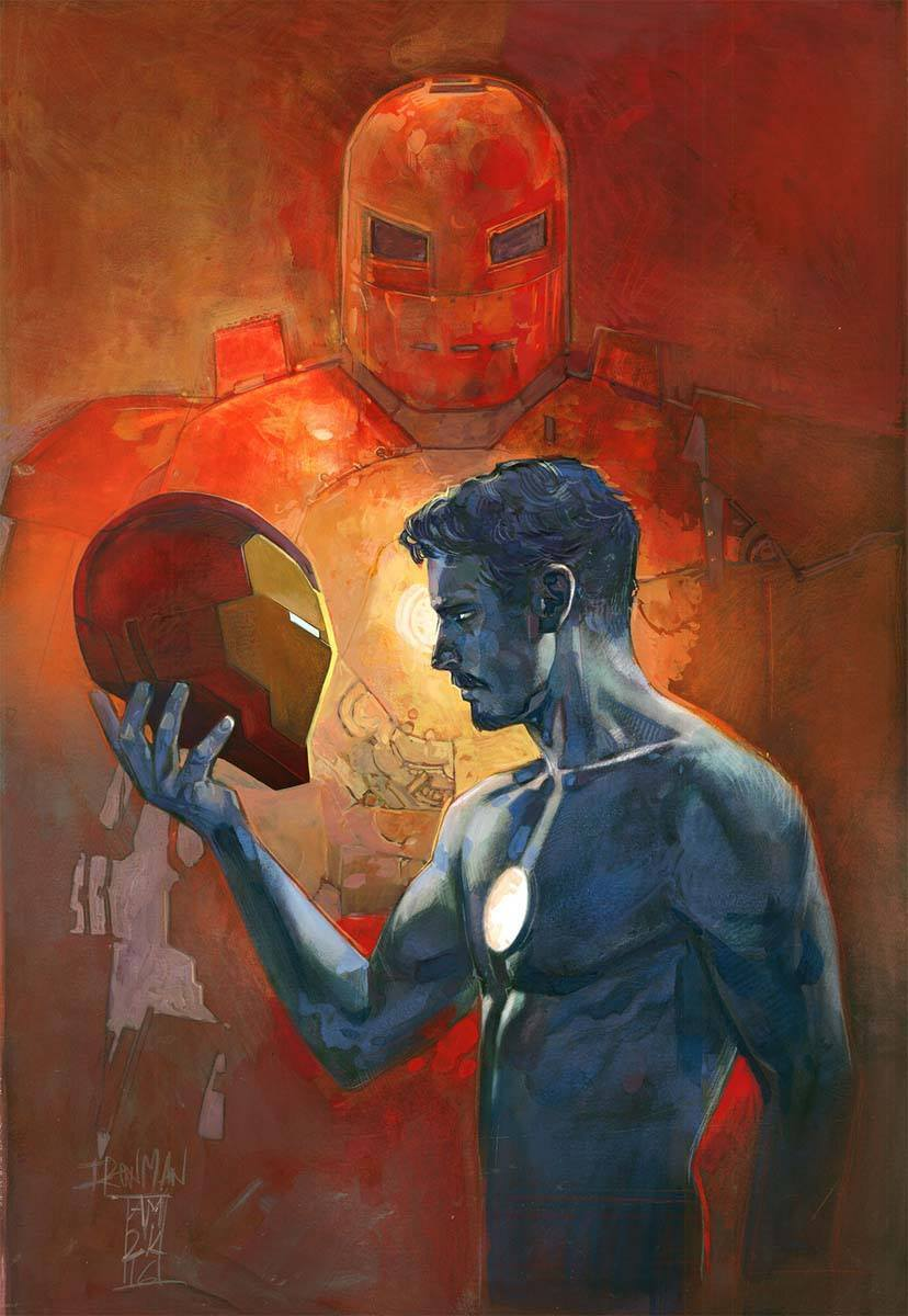 Iron Man #3 by Alex Maleev