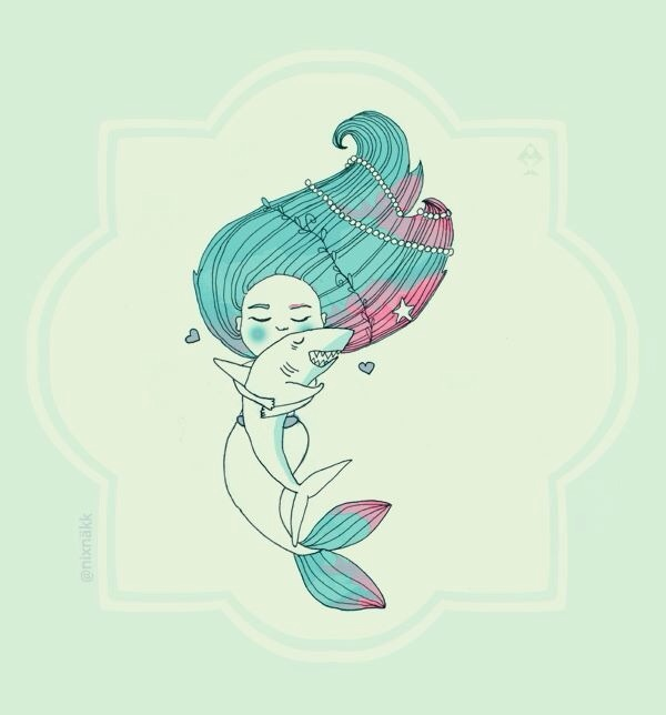mermaid illustration tumblr wwwpixsharkcom images