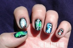 Star Trek Nail Art