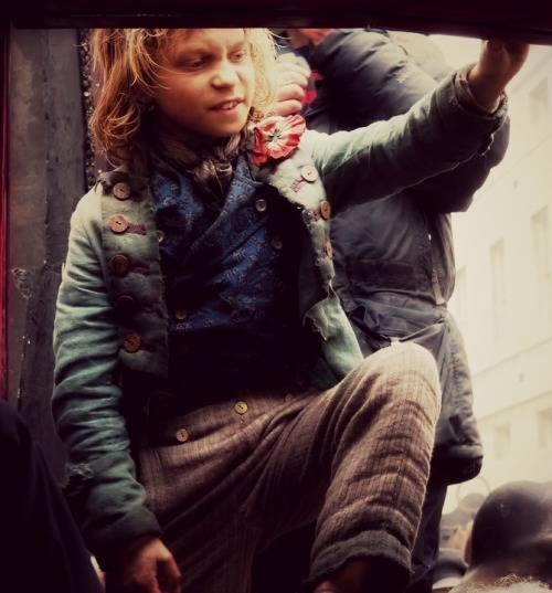 Gavroche is the best part of this movie.